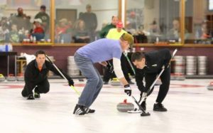 Curling competition in Eau Claire
